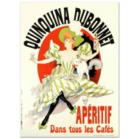 """Quinquina Dubonnet"" Limited Edition Hand Pulled 21x29 Lithograph by the RE Society at PristineAuction.com"