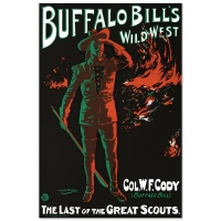 """Alick Penrose Ritchie """"Buffalo Bill's Wild West"""" Hand Pulled 20x30 Lithograph by the RE Society at PristineAuction.com"""