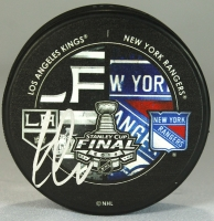 Jarret Stoll Signed 2014 Stanley Cup Finals Hockey Puck (JSA COA) at PristineAuction.com