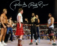 """Rowdy"" Roddy Piper Signed 8x10 Photo (Leaf COA) at PristineAuction.com"