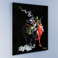 "Michael Godard Signed ""Gangster Love"" Limited Edition 42x53 Hand-Embellished Giclee on Canvas at PristineAuction.com"