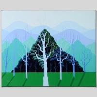 "Larissa Holt Signed ""Eucalyptus"" Limited Edition 27x21 Giclee on Canvas"