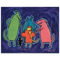 """Matt Rinard """"Bad Choice Of Costume"""" Signed Limited Edition Hand Pulled 12x10 Original Lithograph"""