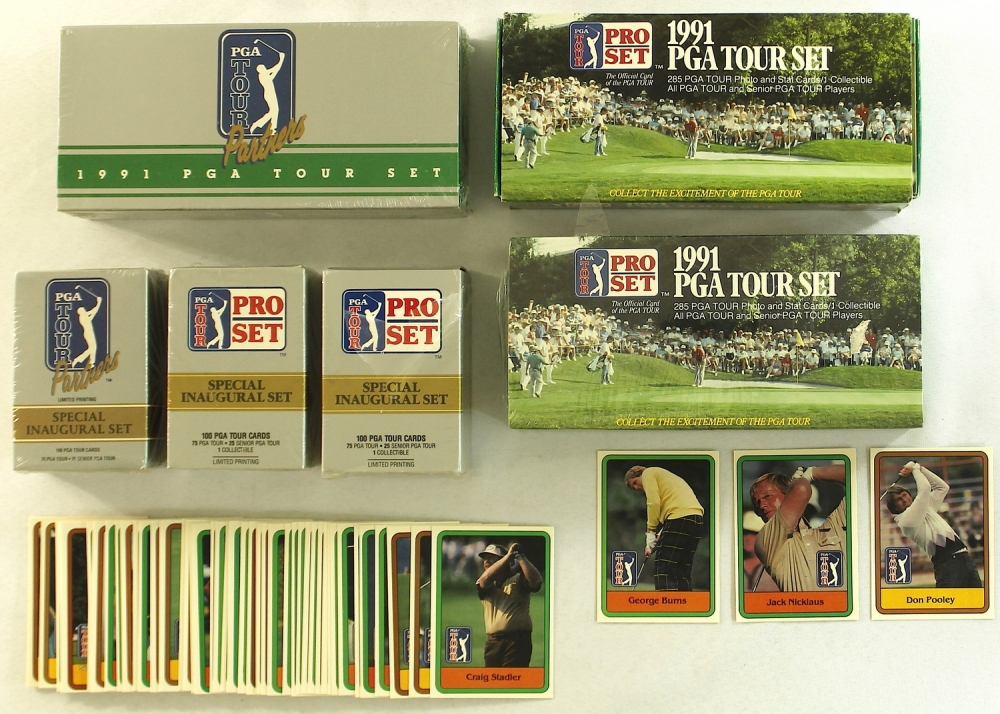 1991 PGA Tour Cards
