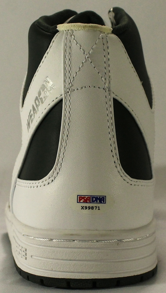 Larry Bird Signed Vintage Converse Weapon Basketball Shoe with Display Case  (PSA COA) at 8c3ce142b