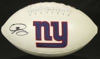 Odell Beckham Jr. Signed Giants Logo Football (JSA COA) at PristineAuction.com