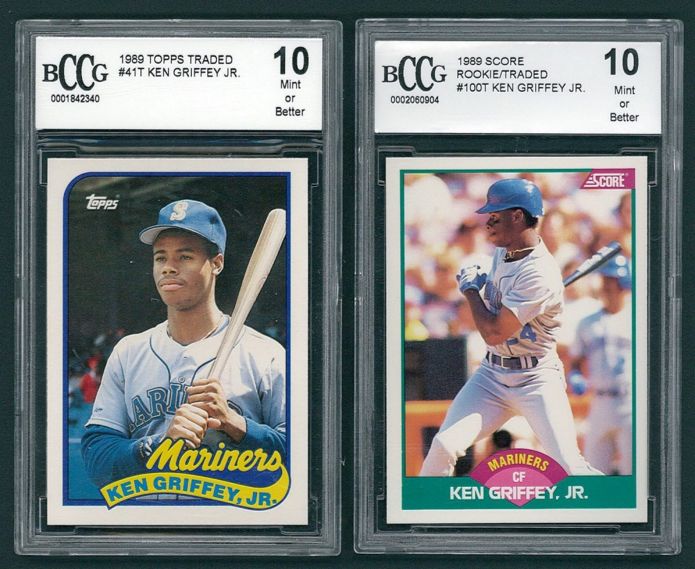 7a4e1da7a6 Lot of (2) Ken Griffey Jr. Baseball Cards with Topps Traded #41T