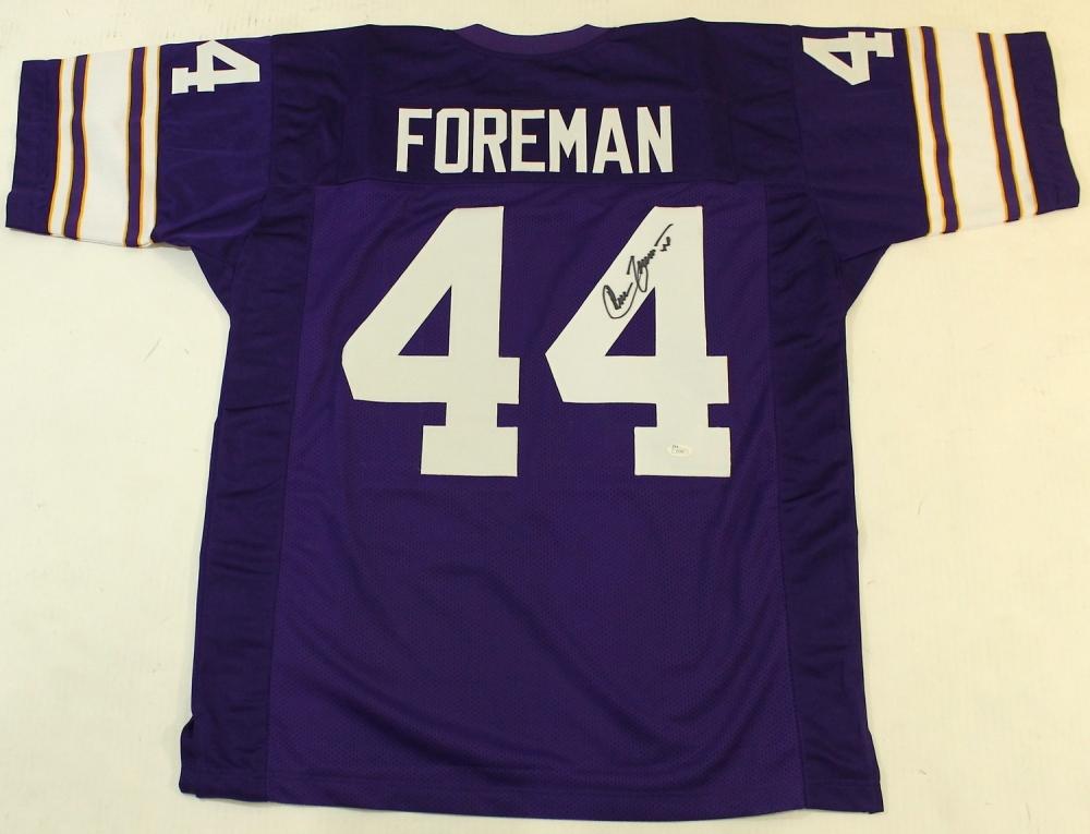 chuck foreman jersey