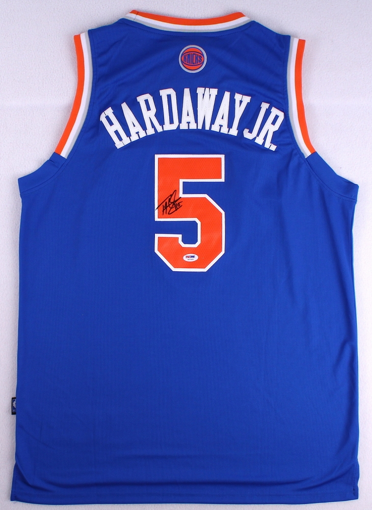 731365a16e2 Tim Hardaway Jr Signed Knicks Jersey (PSA COA) at PristineAuction.com