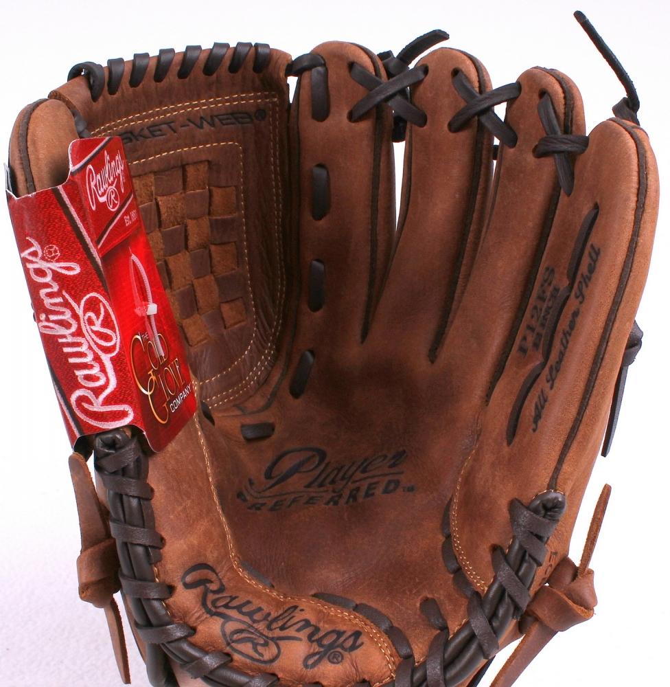 Baseball Glove Paint : Online sports memorabilia auction pristine