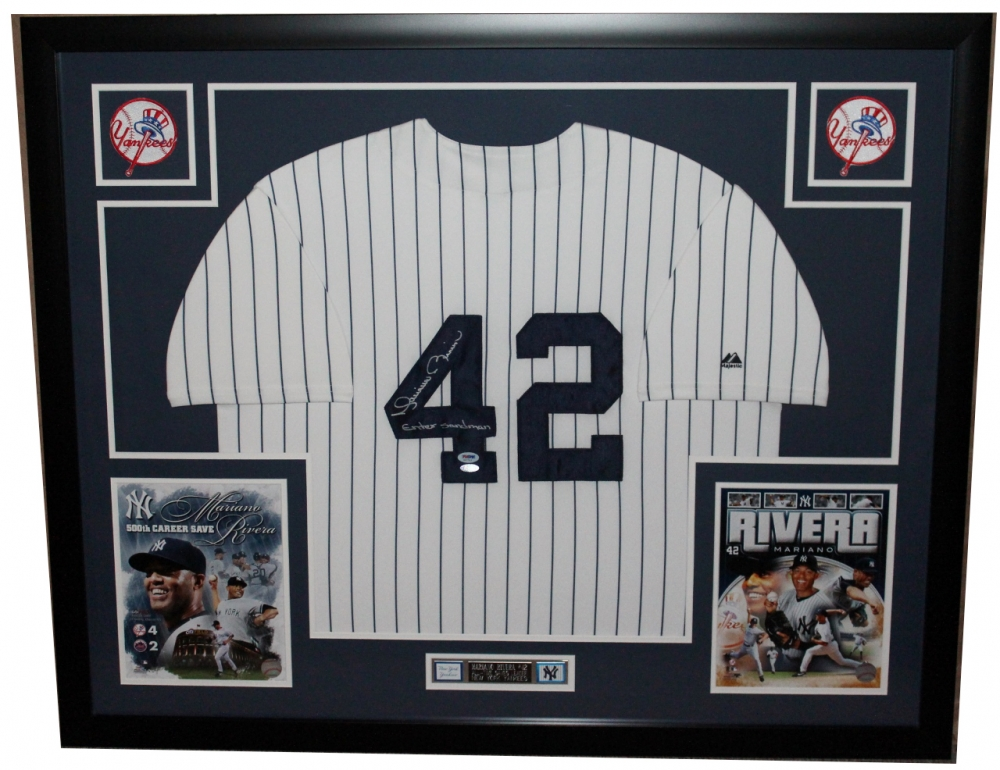 4650adfc189 Mariano Rivera Signed Yankees 35