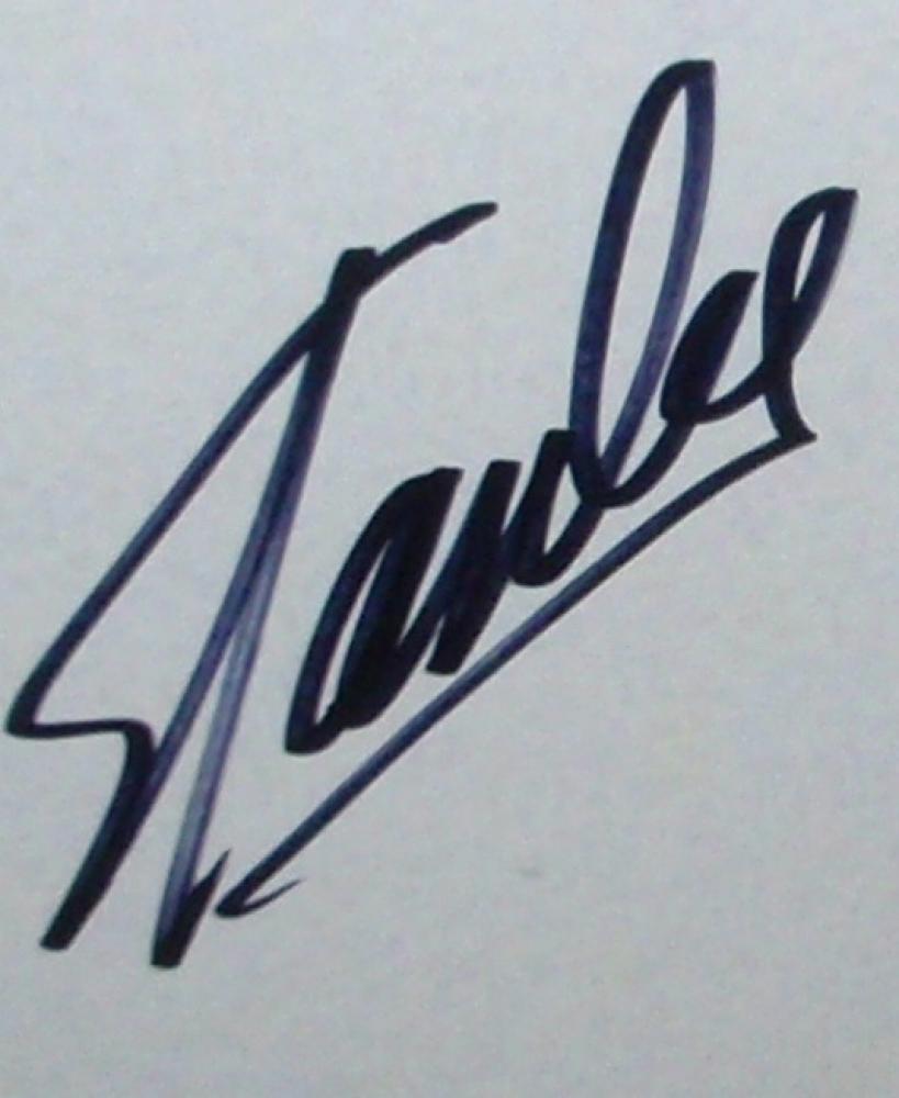Autograph Photo Frame