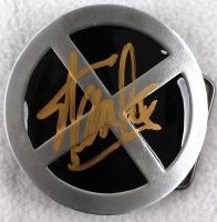"Stan Lee Signed ""X-Men"" Belt Buckle (Radtke COA & Stan Lee Hologram)"