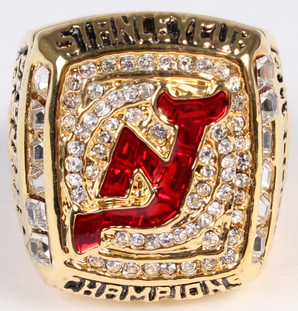 Martin Brodeur New Jersey Devils High Quality Replica 2003 Stanley Cup  Champions Ring at PristineAuction. dd96cd28c