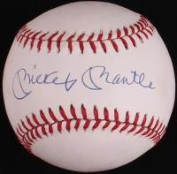 Mickey Mantle Signed OAL Baseball (PSA LOA) at PristineAuction.com