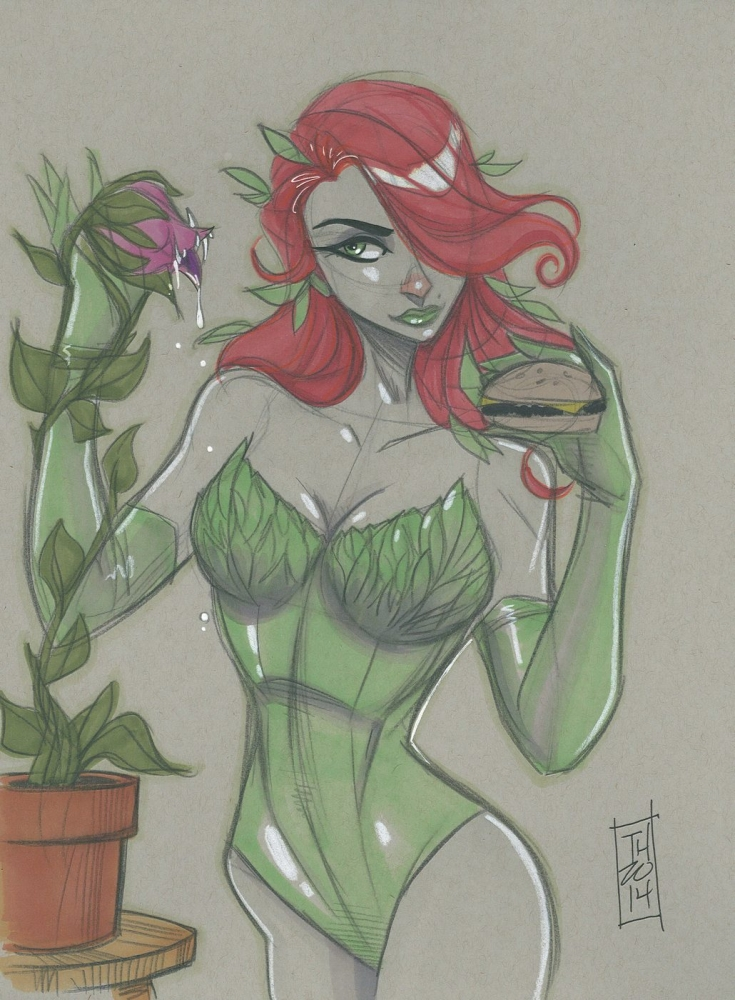 It is a graphic of Sweet Ivy Xname Drawing