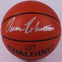 Oscar Robertson Signed Official NBA Game Ball Series Basketball (PSA COA) at PristineAuction.com