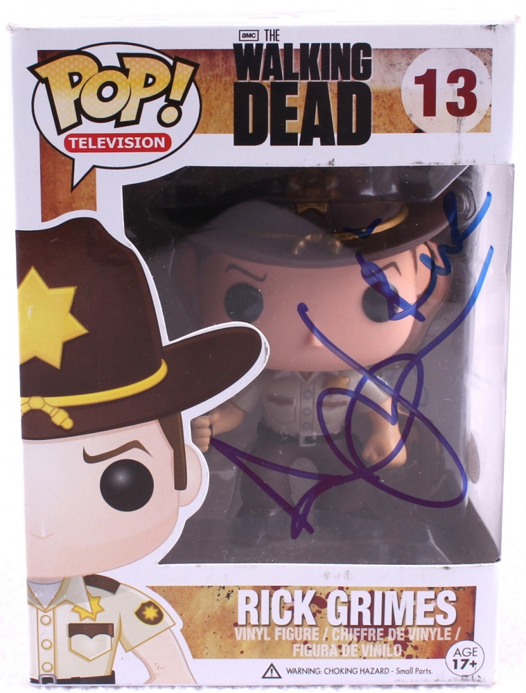 86fdaf36b3d Andrew Lincoln Signed The Walking Dead