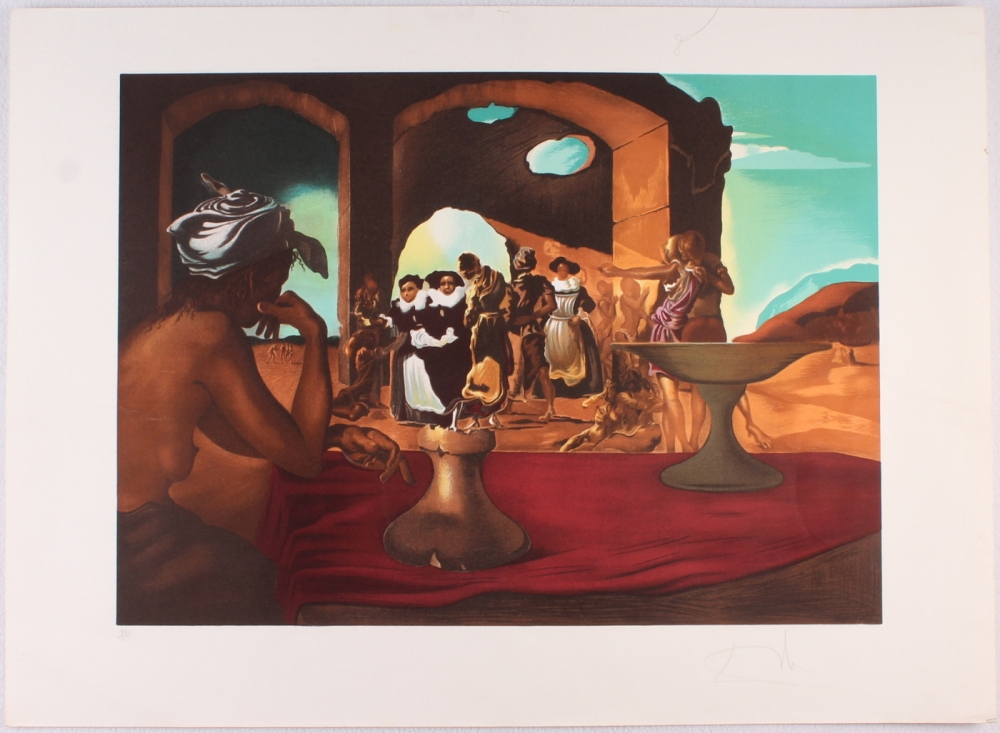 How much is salvador dali paintings worth for How much is my painting worth