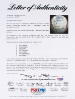 1951 Dodgers Team Signed ONL Baseball by (27) with Roy Campanella, Jackie Robinson, Ralph Branca, Preacher Roe, Andy Pafko (PSA LOA) at PristineAuction.com
