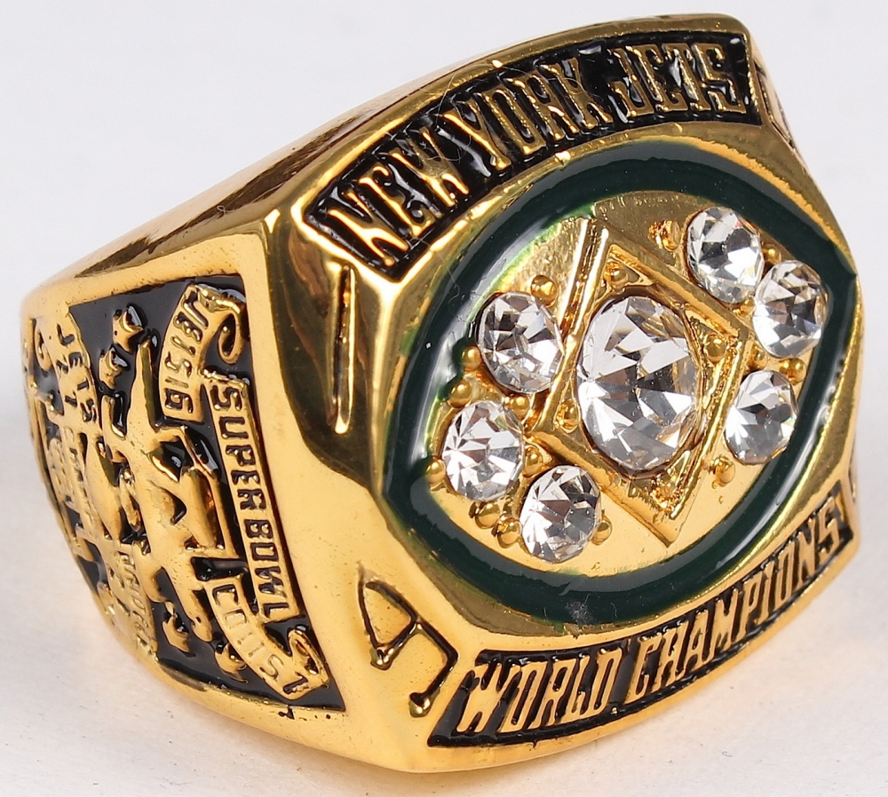 9e1658a3 Joe Namath New York Jets High Quality Replica 1968 Super Bowl III  Championship Ring at PristineAuction
