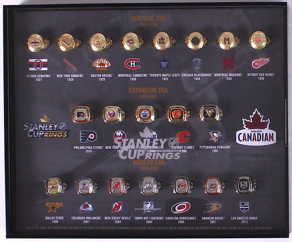 Molson Canadian Hockey Rings