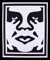 """Shepard Fairey - """"Obey"""" Andre the Giant - Signed 25x30 Lithograph at PristineAuction.com"""