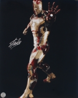 """Stan Lee Signed """"Iron Man"""" 16x20 Photo (Lee Hologram) at PristineAuction.com"""