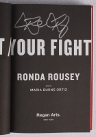 """Ronda Rousey Signed """"My Fight / Your Fight"""" Hardback Book (PA LOA) at PristineAuction.com"""
