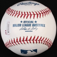 "Ozzie Guillen Signed OML Baseball Inscribed ""05 WS"" (JSA COA) at PristineAuction.com"