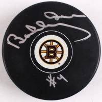 Bobby Orr Bruins Signed Bruins Puck (Orr COA)