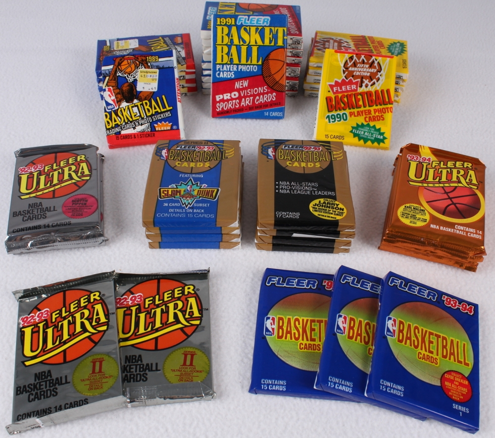 Lot Of 41 Fleer Ultra Basketball Cards With 5 1989