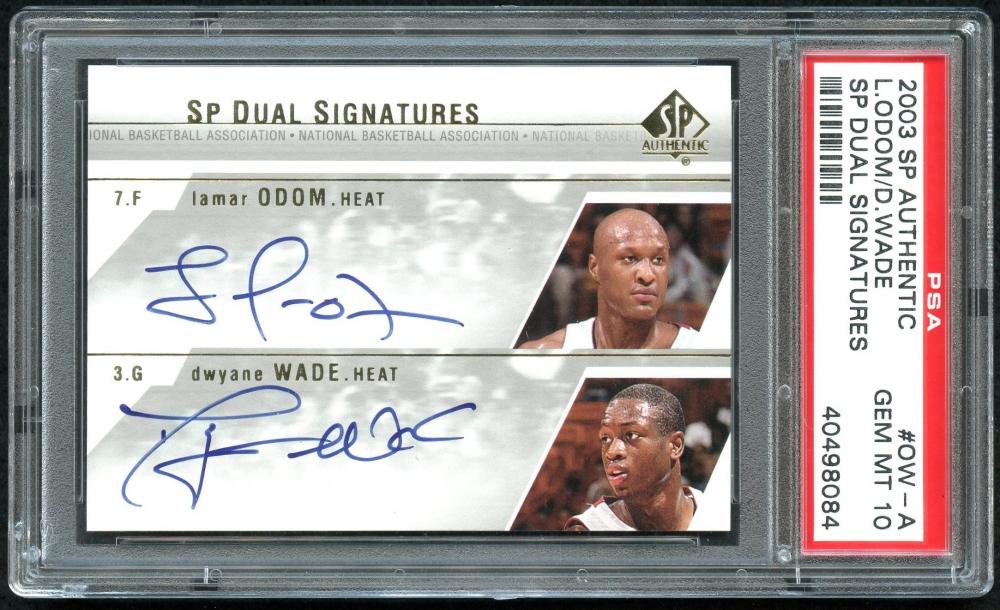 f16d0b63c473 2003-04 SP Authentic Signatures Dual Autograph  OWA Lamar Odom   Dwyane  Wade (