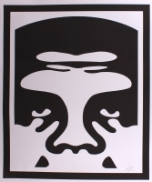 """Shepard Fairey """"Obey"""" Andre the Giant Signed 25x30 Lithograph"""