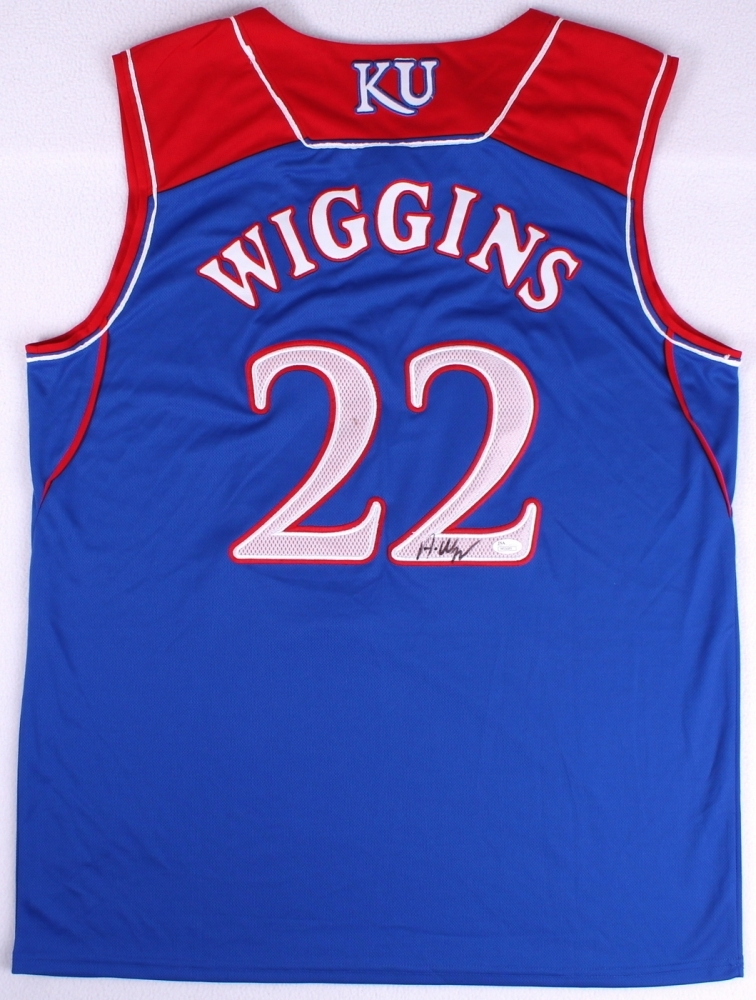 Andrew Wiggins Kansas Jersey