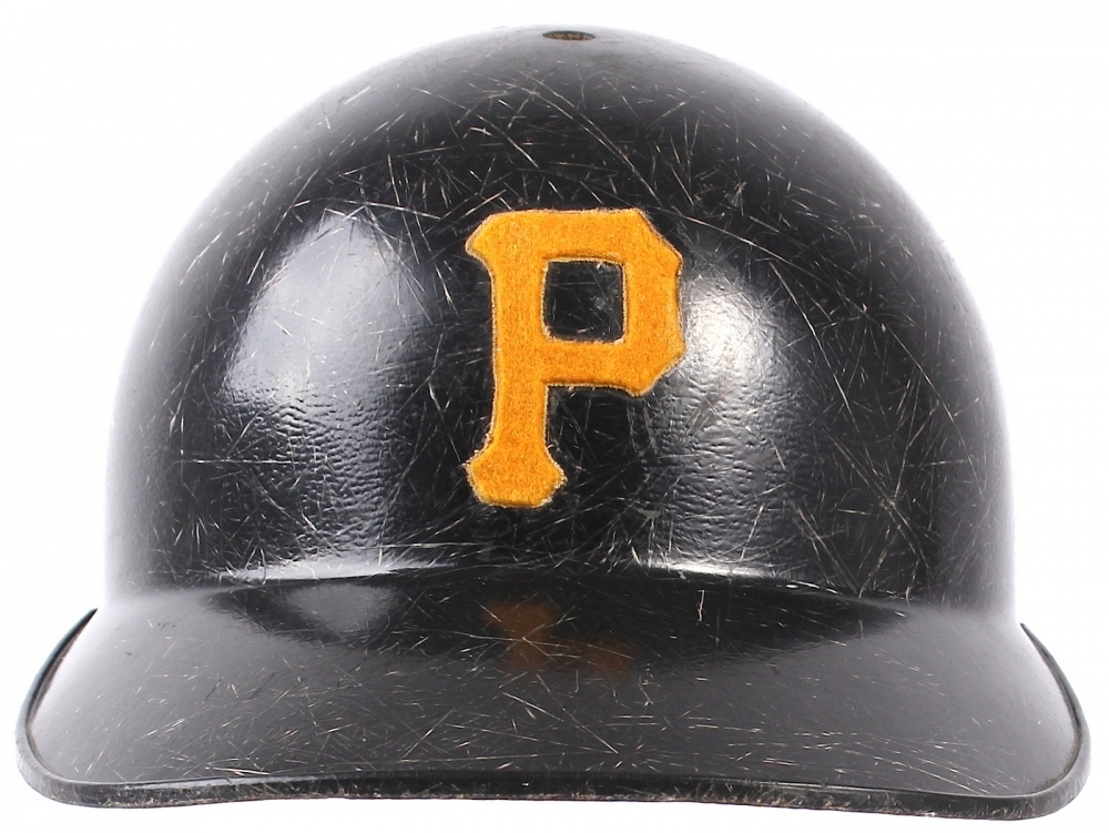 Roberto Clemente Game Used Pirates Batting Helmet Esa Loa Pristine Auction