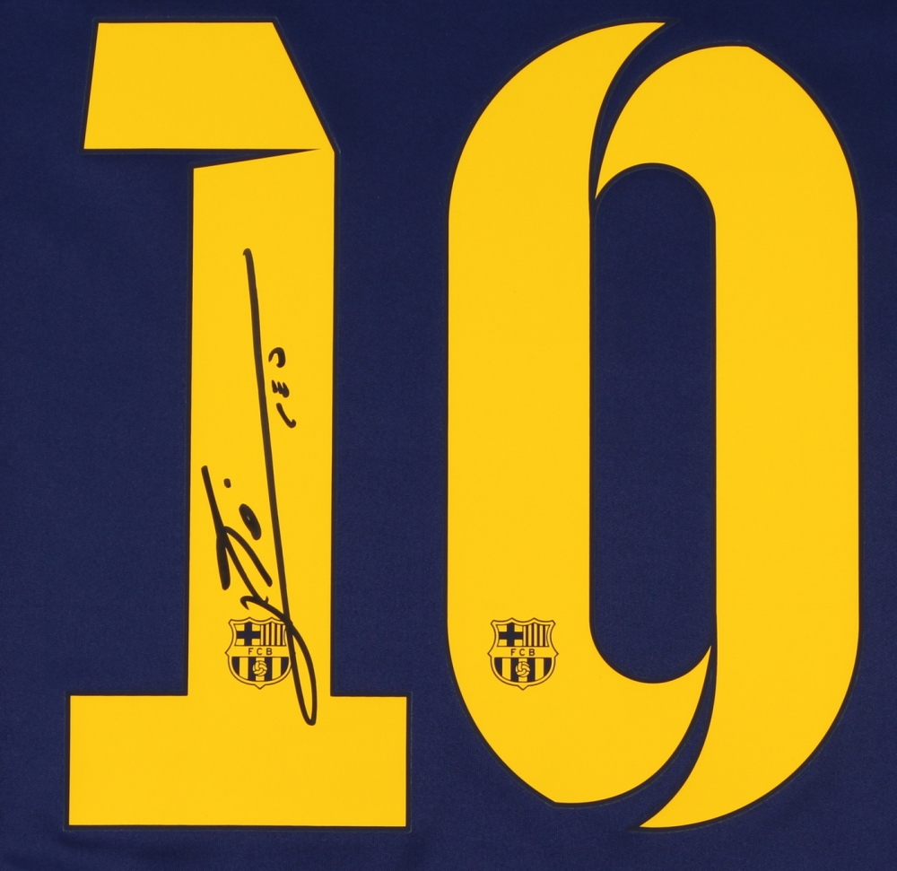 6d27a1d6609 Lionel Messi Signed Barcelona Nike Authentic Soccer Jersey (Messi COA) at  PristineAuction.com