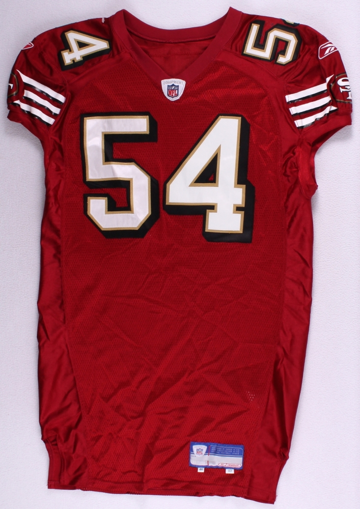 83e93ffc19c Roderick Green 2003 San Francisco 49ers  54 Reebok Game-Used Jersey at  PristineAuction.