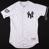 Derek Jeter Signed 2000 World Series Yankees Authentic Majestic Jersey (Steiner COA & MLB) at PristineAuction.com