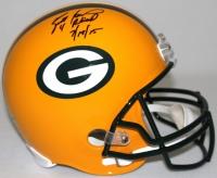 """Brett Favre Signed LE Packers Full-Size Helmet Inscribed """"4 Retired 7/18/15"""" #8/44 (Favre Hologram & COA)"""