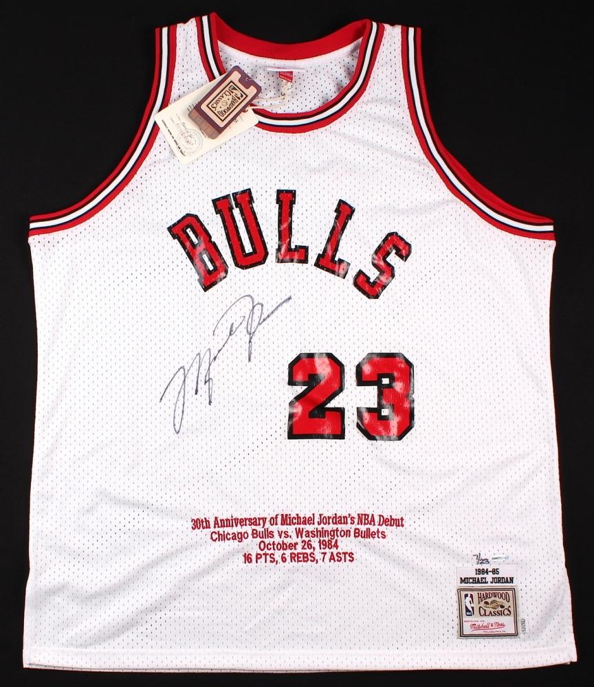 a9d9c34eccc Michael Jordan Signed LE Authentic Mitchell & Ness