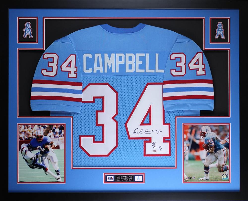 online retailer c12e1 5e987 34 earl campbell jersey village