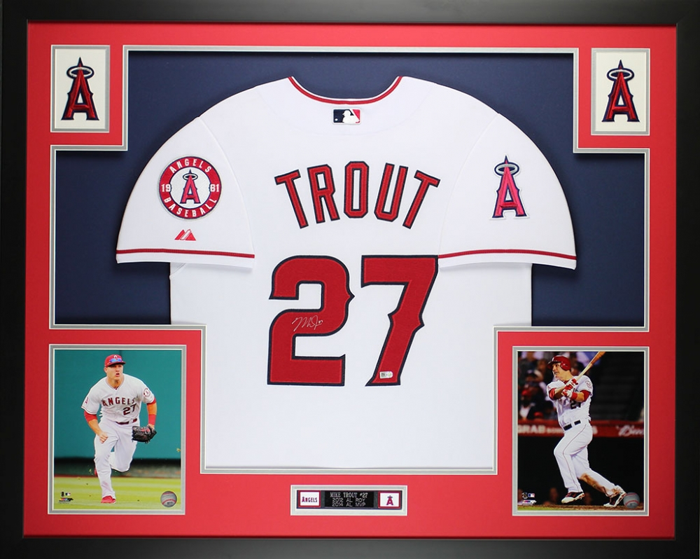 fb0d65dc91f Mike Trout Signed Angels 35