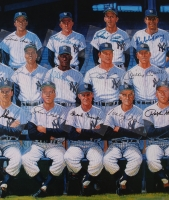 1961 New York Yankees 24x38 LE Lithograph with (41) Facsimile Autographs at PristineAuction.com