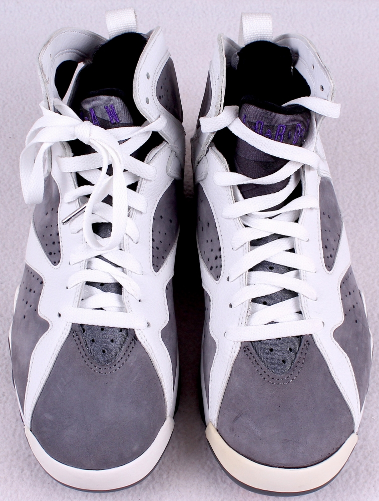 920b6e341694ea Pair of (2) Michael Jordan Air Jordan VII Shoes with (1) Signed