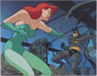 "Batman: The Animated Series ""Batman & Poison Ivy"" DC Comics Limited Edition 11"" x 14"" Zanart Movie Card"