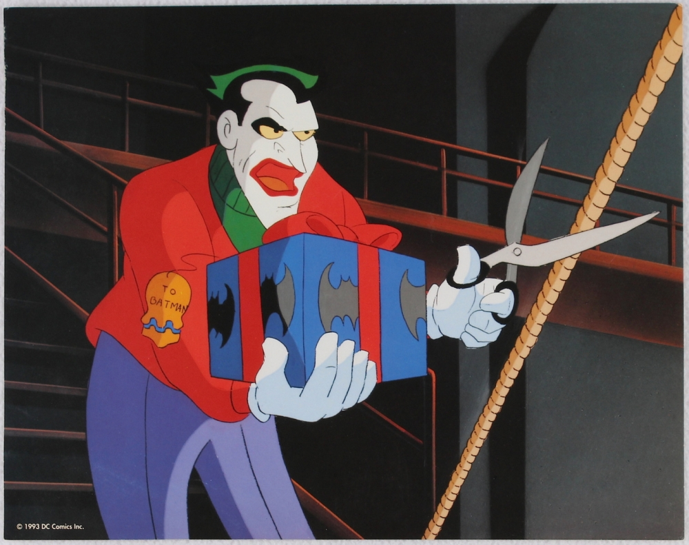 "Batman: The Animated Series ""The Joker"" Limited Edition 11x14 Zanart Movie Card at PristineAuction.com"
