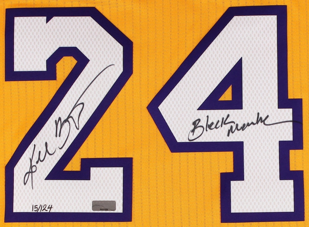 ... Charitybuzz Authentic Los Angeles Lakers Jersey Signed by Kobe Bryant -  Lot 870513 Kobe Bryant Signed LE Lakers Authentic Adidas On-Court Jersey ... f049386e7