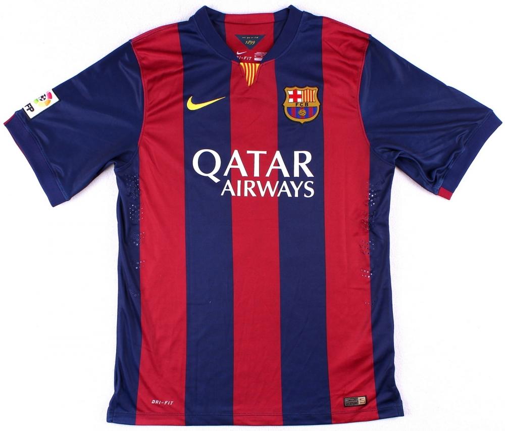 24cbfe03b92a Neymar Signed Barcelona Nike Authentic Soccer Jersey (Fanatics Hologram) at  PristineAuction.com
