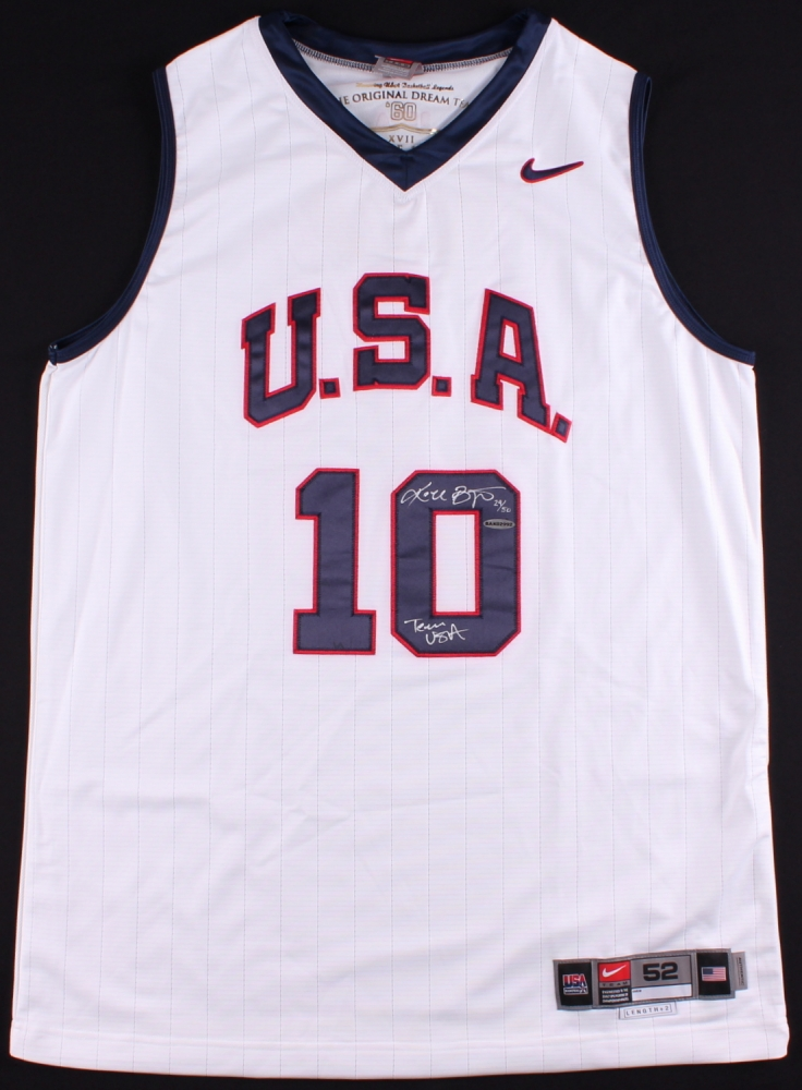 c9f89f37d ... Issued Lower Merion High School Jersey (PSA LOA) at PristineAuction Kobe  Bryant Signed LE Team USA ...